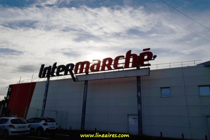 Un magasin Intermarché