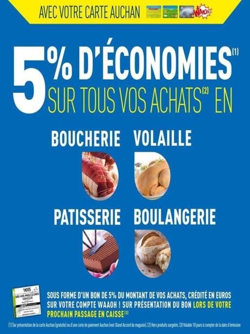 Carte Accord Auchan Waaoh.Auchan Un Petit Effet Waaoh Sur Le Trad La Distribution