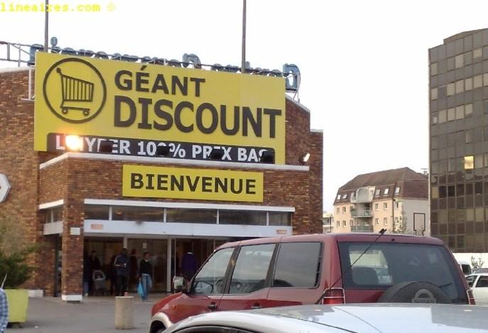 Le Géant Discount de Boissy