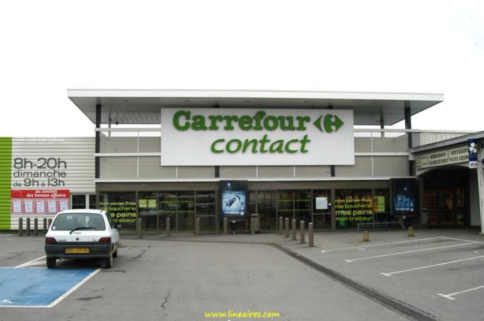 Un magasin Carrefour Contact