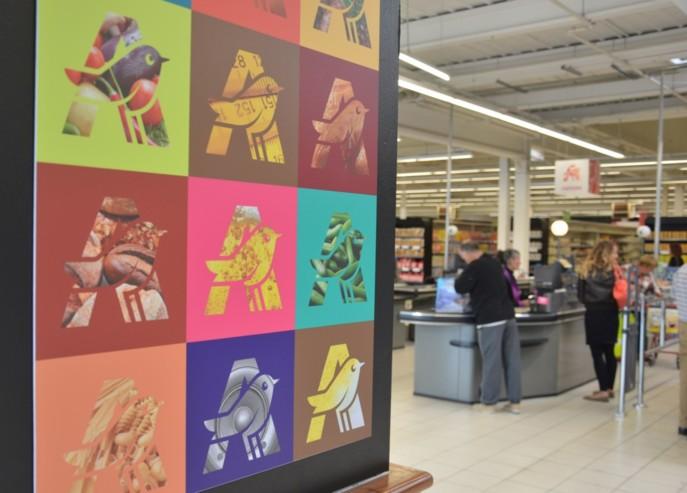 Contrairement au premier plan social annoncé en janvier, le second dévoilé le 9 septembre impacte les hypers Auchan. Photo : Linéaires.
