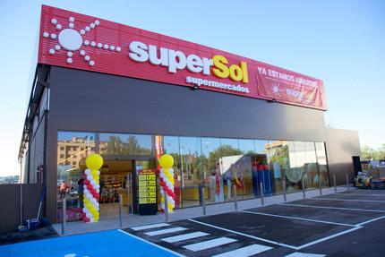Un magasin Supersol en Espagne