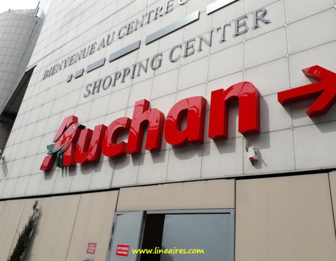 Un hypermarché Auchan