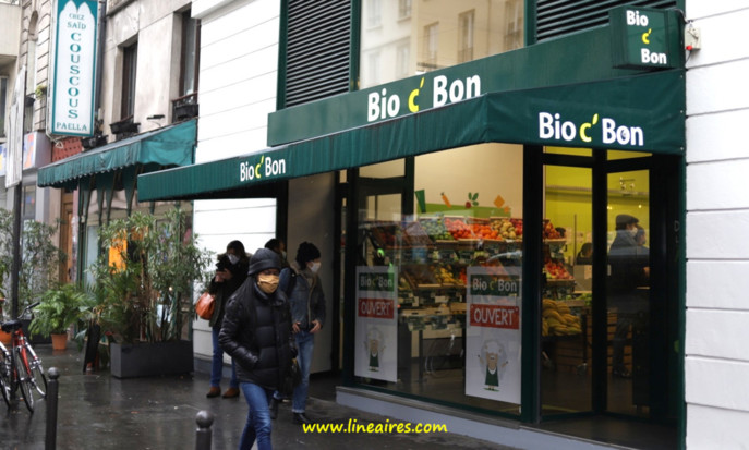 Un magasin Bio c'Bon rouvert à Paris