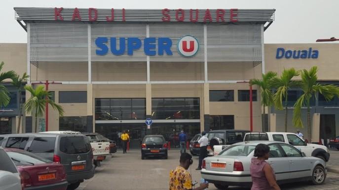 Le Super U de Douala au Cameroun