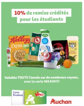 Offre étudiants Auchan