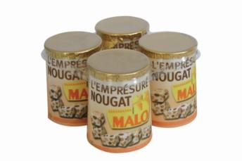 Nougat, le quatrième parfum de la gamme d'emprésurés Malo