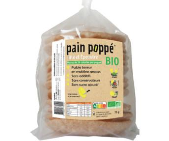 Les galettes soufflées bio de Pain Poppé