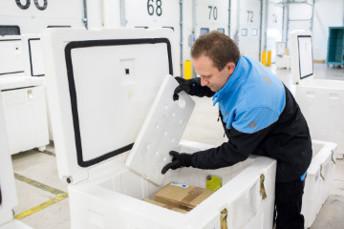 Chronopost veut livrer 30.000 colis de produits frais par jour (photo REA)
