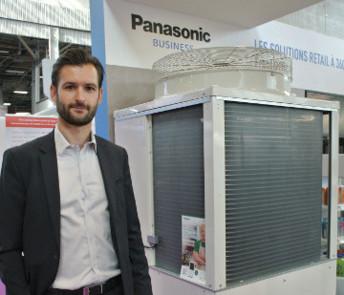 Panasonic réfrigère les petites surfaces