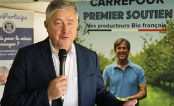 Benoît Soury, directeur des marchés bio de Carrefour. Photo : Carrefour.