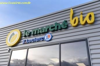 Le Marché bio Leclerc Erstein (67)