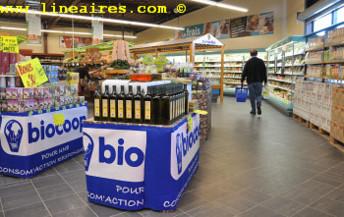 Biocoop progresse de 8,2% en 2013