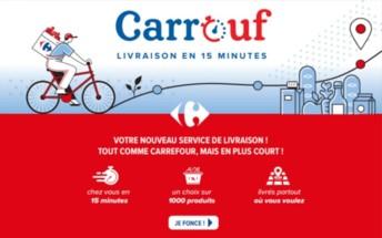Carrefour se lance en solo dans le quick commerce