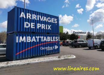 La jolie surprise du Carrefour low cost d'Avignon