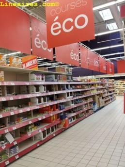 Courses éco Carrefour