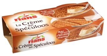 crème au spéculoos Rians