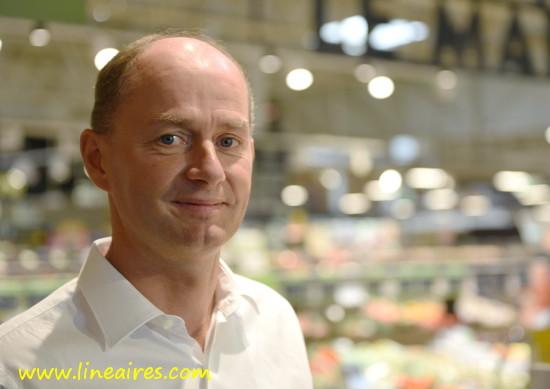 Louis Bouriez, PDG des Supermarchés Match