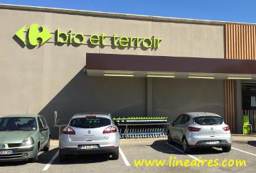 Exclusif : le premier Carrefour Bio et Terroir en images