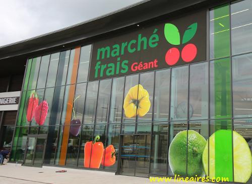 Exclusif: le premier Marché Frais Géant va ouvrir ses portes