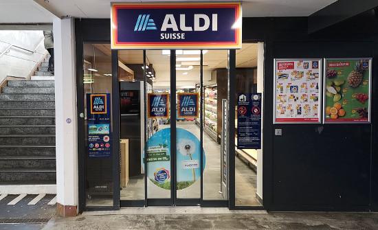 Le nouveau magasin Aldi ouvert dans la gare de Lausanne