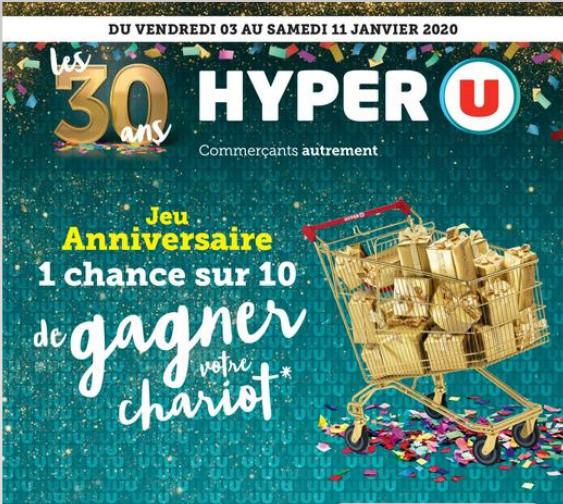 Hyper U fête ses 30 ans en 2020