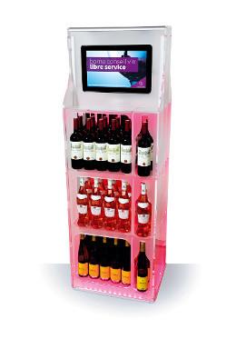Le vin en tête de gondole