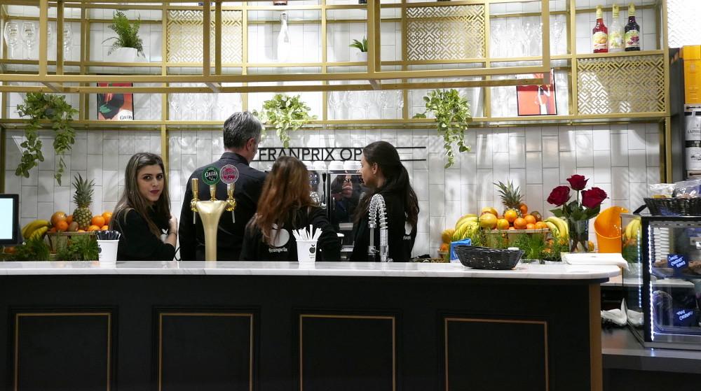 Franprix prend un virage French café