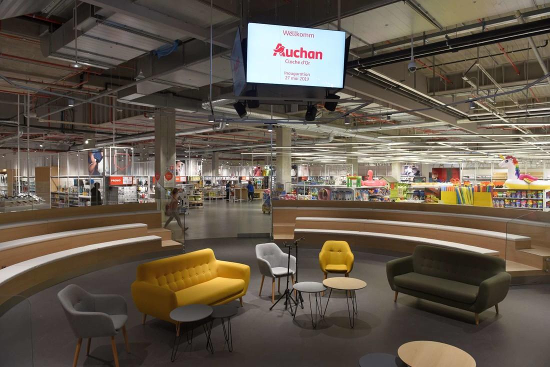 Carte Auchan Kirchberg.Decouvrez Le Concept Lifestore D Auchan Luxembourg Les
