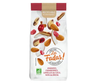 Color Foods totalement Fadas de fruits secs bio