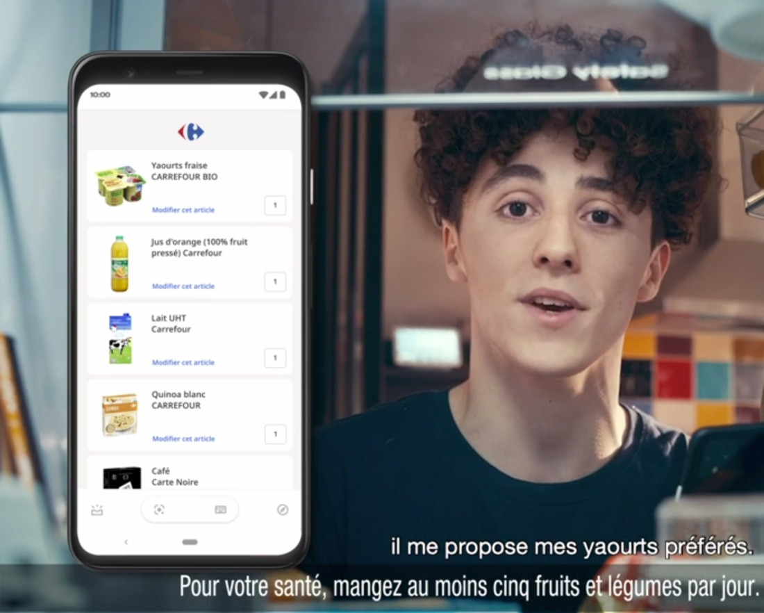 Carrefour fluidifie les courses par la voix