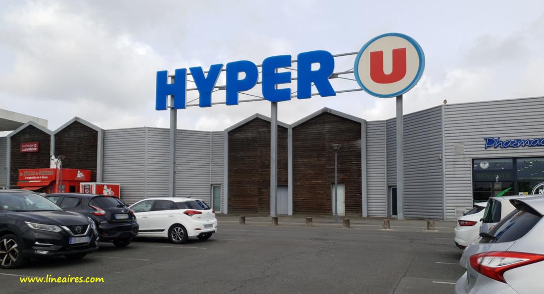 Un magasin Hyper U