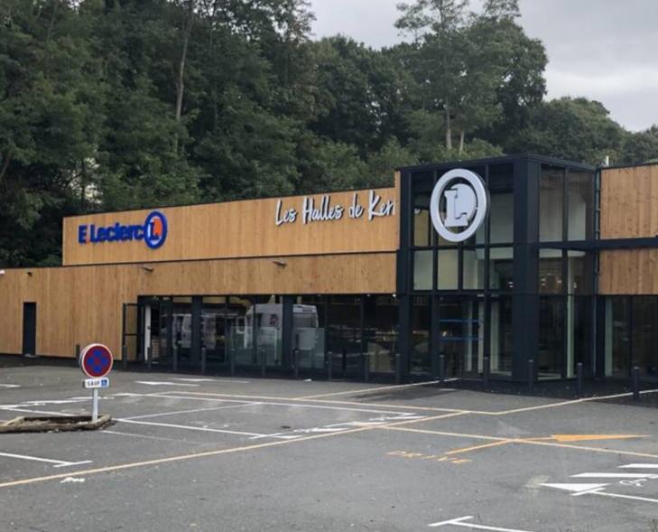 Inédit : un Leader Price converti en Halles Leclerc