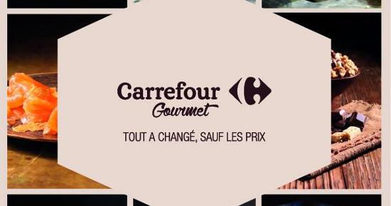 Chez Carrefour, Gourmet devient une vraie enseigne