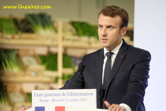 SRP: Emmanuel Macron ne signera pas de chèque en blanc à la distribution