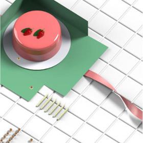 Papier antidérapant pour fond de boîte à gâteau d'Indutex