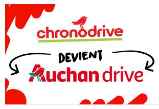 Un premier Chronodrive prend l'enseigne Auchan