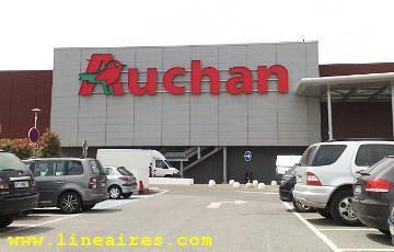 Top 100 : le chiffre d'affaires d'Auchan Vélizy, premier hyper de France