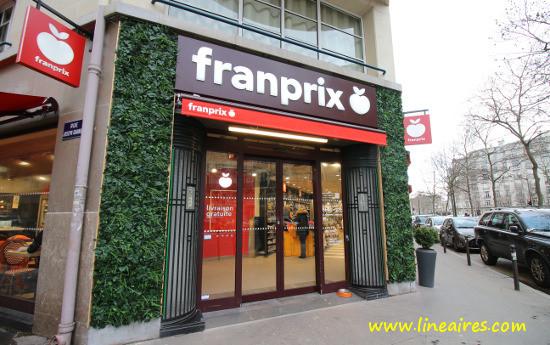 Un magasin Franprix à Paris