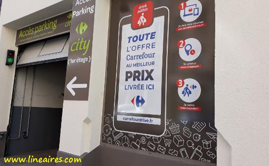 Drives urbains: Carrefour commence par la proxi