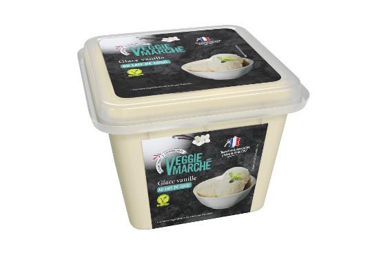 Les premières glaces vegan d'Intermarché