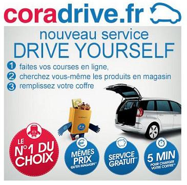 Le drive yourself de Cora