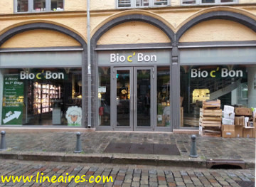 Selon nos estimations, le chiffre d'affaires moyen d'un magasin Bio c' Bon est d'environ 1,5 million d'euros.