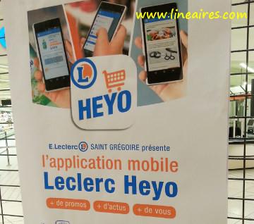 Heyo, la nouvelle appli enrichie de Leclerc