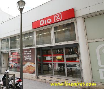 Un magasin Dia