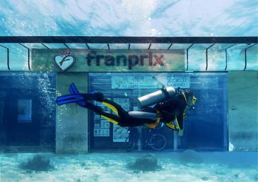 Franprix sous la mer
