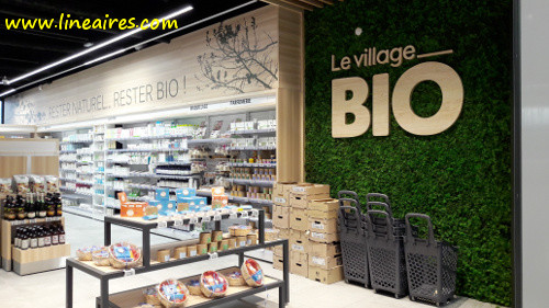 Le magasin Le Village Bio de Saint-Paul-lès-Romans