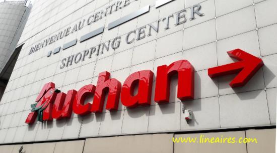 Quelle performance pour les 5 premiers Auchan de France ?
