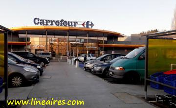 L'hypermarché Carrefour de Flers (61), qui devrait passer en location-gérance en mars 2018