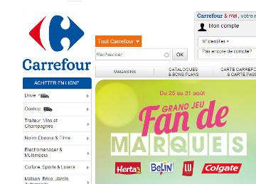 La nouvelle stratégie e-commerce de Carrefour